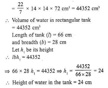 RD Sharma Class 10 Solutions Chapter 14 Surface Areas and Volumes  RV 8