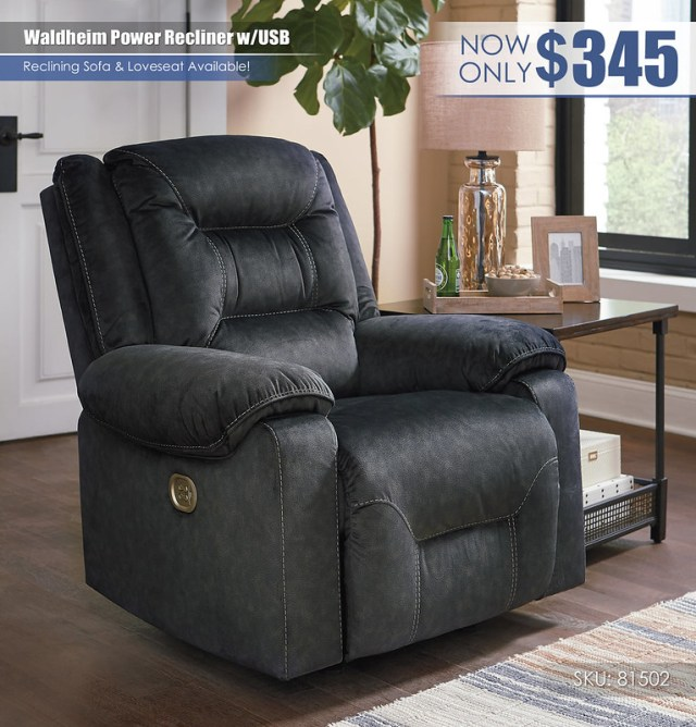 Waldheim Power Recliner_81502-13