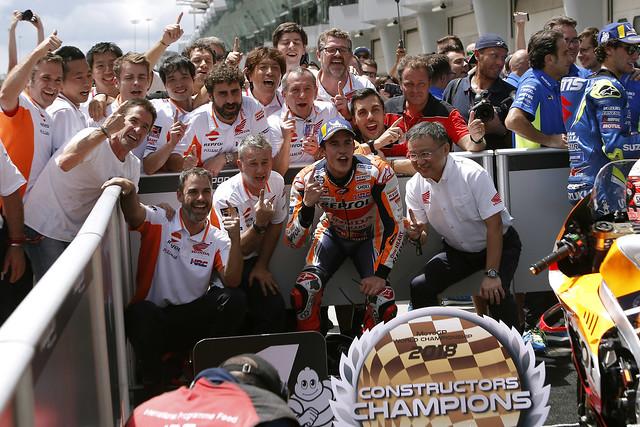 Marc Márquez. GP de Malasia 2018
