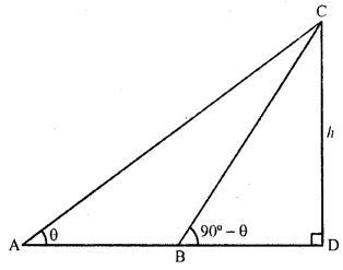 RD Sharma Class 10 Solutions Chapter 12 Heights and Distances VSAQS - 5