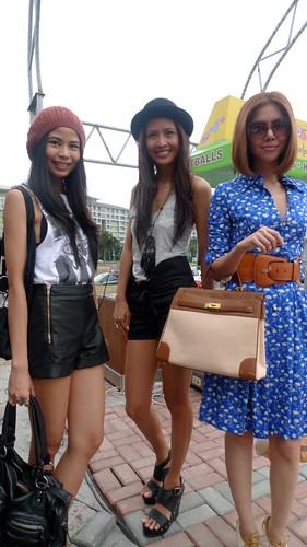 Fashion models @ Mercato Centrale