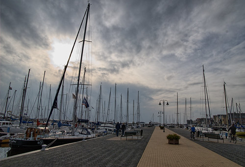 Urk's jacht haven