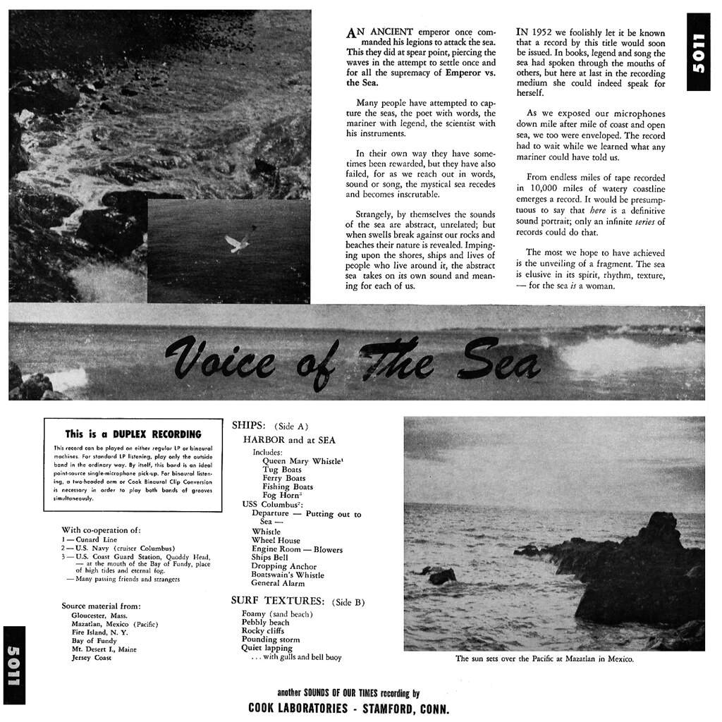 Sound Effects - Voice Of The Sea