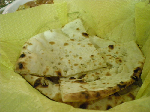 Bombay Spices - garlic naan