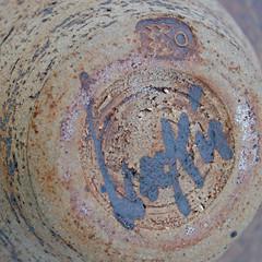 Bird bowl. Marks
