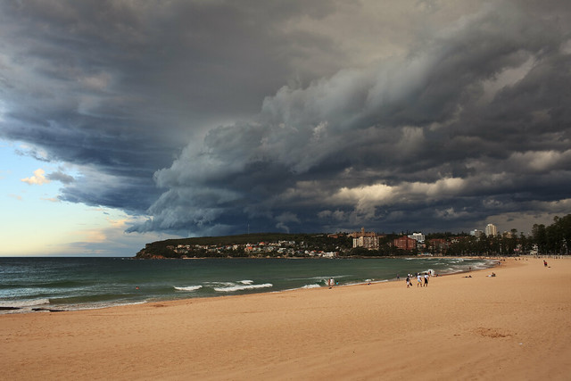 Storm Cell over Manly