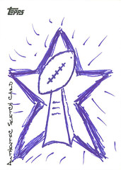 Tony Romo Sketch Card