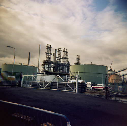 Conoco-Phillips oil refinery