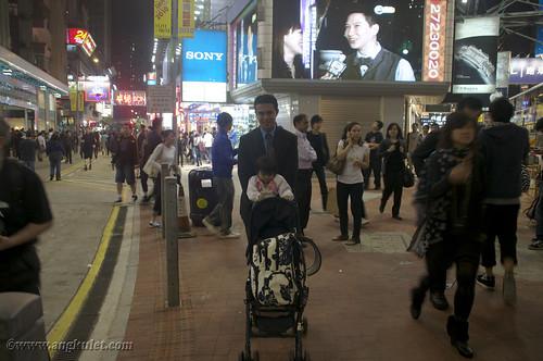 Lia in Causeway, HK 2010