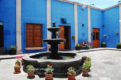 Arequipa courtyard