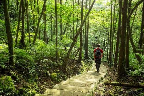 Taiwan - Hiking near Pingxi