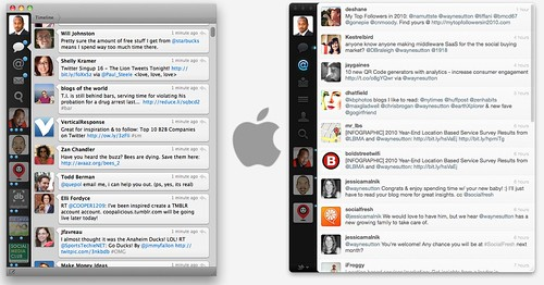 Tweetie vs Twitter for Mac