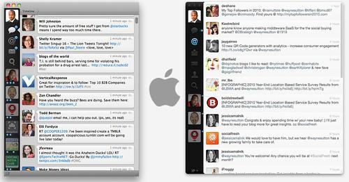 Tweetie vs Twitter for Mac
