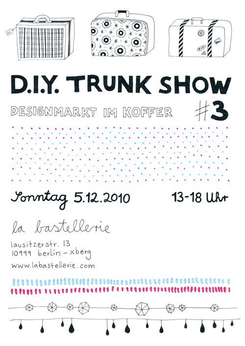 Trunkshow in der Bastellerie