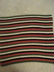 Striped Baby Blanket for Girl