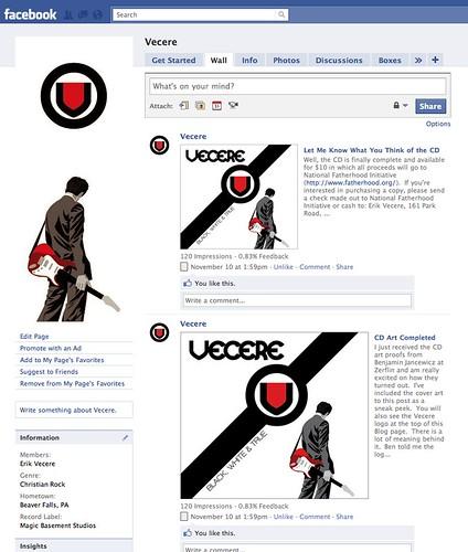 Vecere Facebook Page