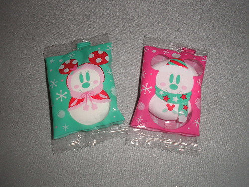 Christmas Disney marshmallows