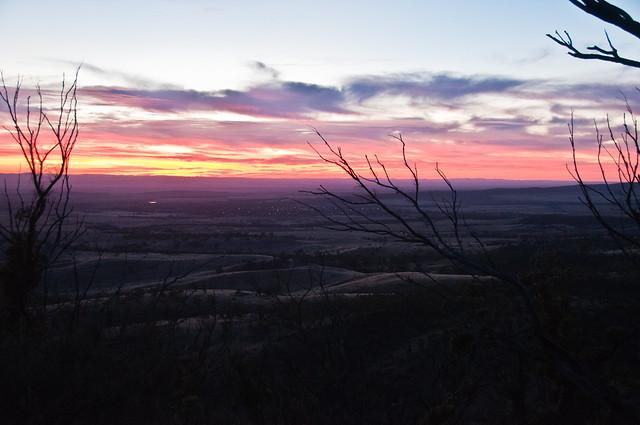 Sunrise from Dutchman's Stern