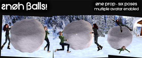 SnOh Balls! - Prop and Poses