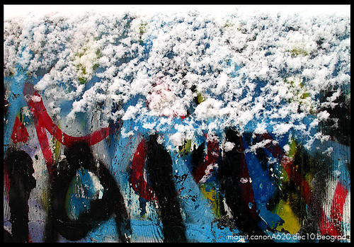 grafit i sneg