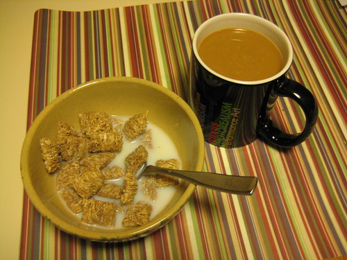 Autumn Wheat and coffee