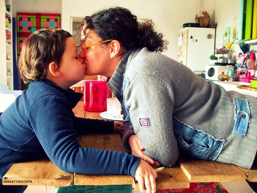 O beijo / The kiss