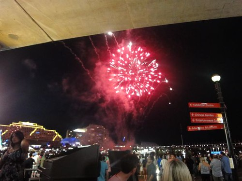 Ice Cube: Fireworks in Darling Harbour