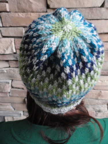 Checkerboard Hat - Back