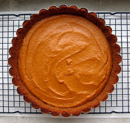 Ginger Pumpkin Tart