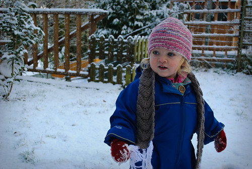 352/365 Toddler in Snow again