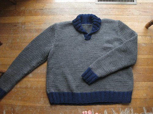 Commissioned sweater
