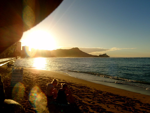 Dawn over Diamondhead