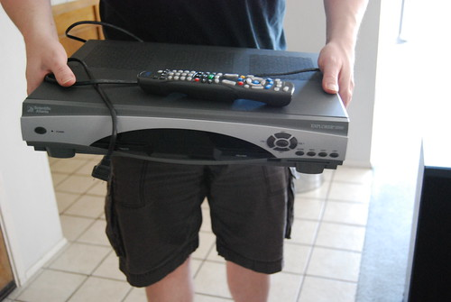 Dead DVR/cable box