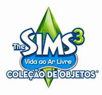 Brazilian - The Sims 3 Outdoor Living Stuff Pack cover/logo