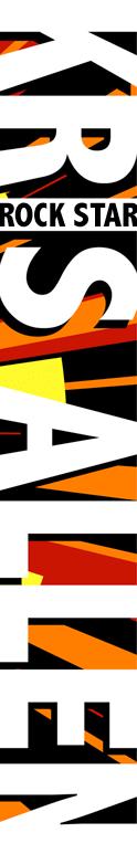 Kris Allen Graphic Set flyer design art banner