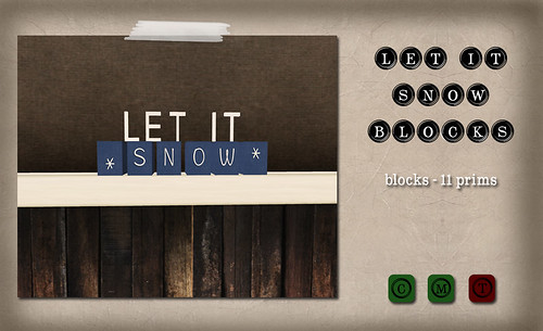 Barcode - Let it Snow Blocks