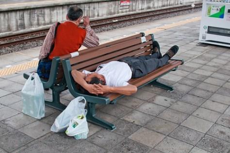 Sleeping Japanese