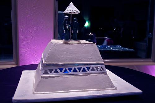 Daft Punk cake