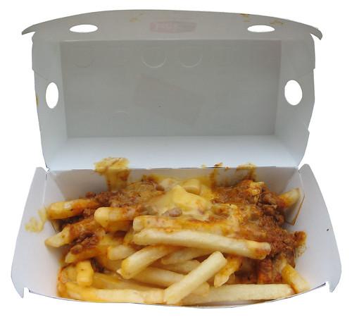 Jack in the Box Chorizo Cheese Fries