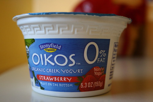 Stonyfield Oikos Organic Greek Yogurt Strawberry