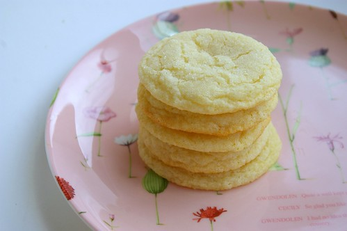 Lemon Sugar Cookies II