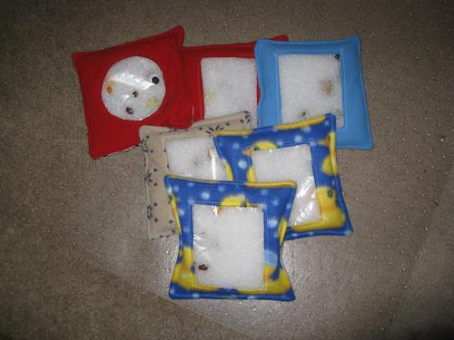 All 6 I-Spy bags!