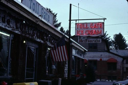 Toll Gate Ice Cream, December 26, 2010 - my final Kodachrome shots