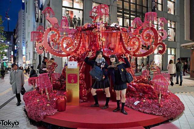 Fun Shibuya Schoolgirls & Majolica Majorca