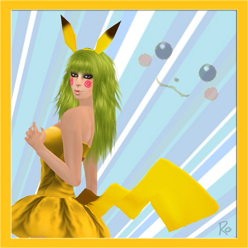 Pikachu Inspired ^.^