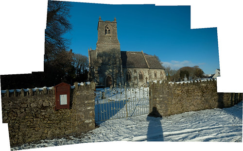 Kilmalooda Church Panorama