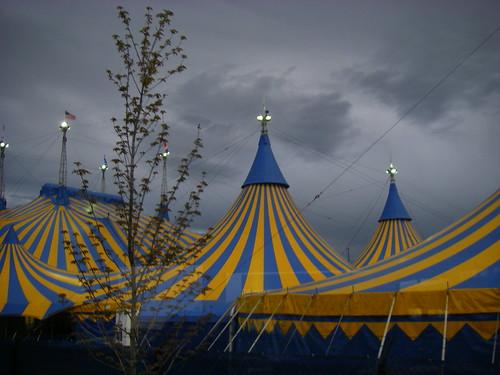 cirque du soleil tents