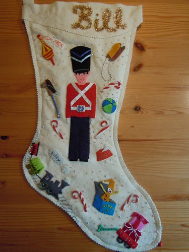 Soldier and toys stocking FINISHED
