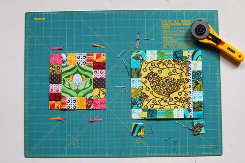 Fussy Cut Bee (A) :: Block Tutorial