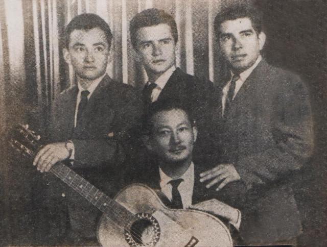 """Foto de Los Taitas, incluída en el libro """"No volveré a querer. La historia de Los Taitas del Beni"""" del escritor Edson Hurtado"""